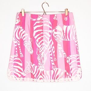 Lilly Pulitzer Zebra Skirt
